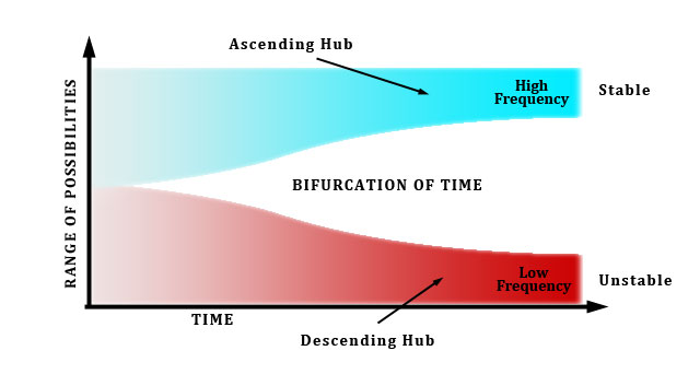 Bifurcation of Time