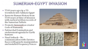 Sumerian-Egypt Invasion - Ascension Glossary