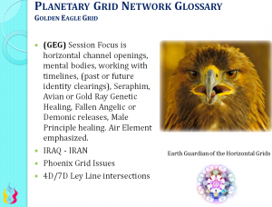 Golden Eagle Grid - Ascension Glossary